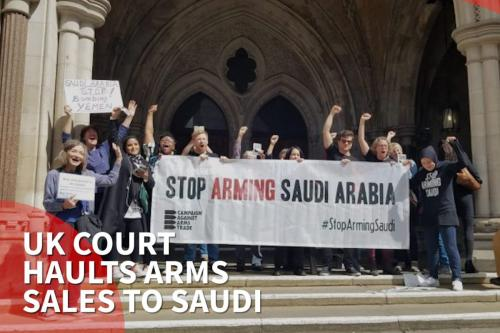 Thumbnail - Court rules UK arms exports to Saudi unlawful