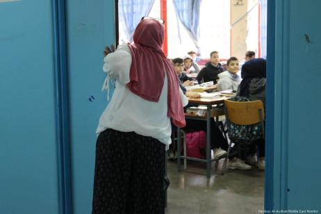 Souad Srej, Principal of the Haifa Preparatory School in Lebanon.