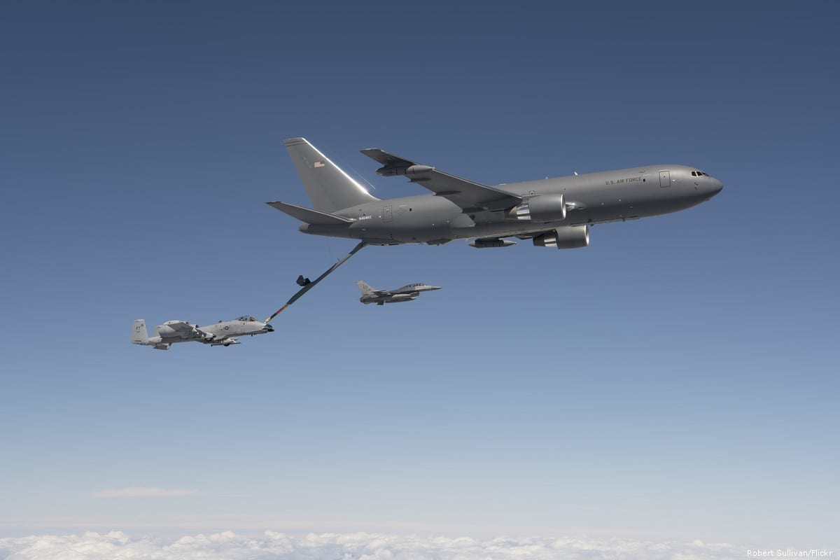 US Boeing KC-46 Pegasus aircrafts [Robert Sullivan/Flickr]