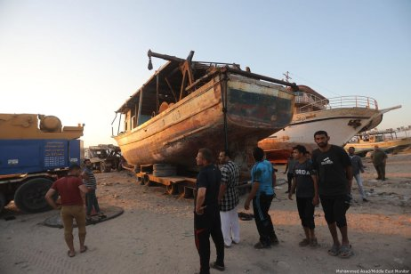 Israel to return 20 boats to Gaza fishermen on 2 July 2019 [Mohammed Asad/Middle East Monitor]
