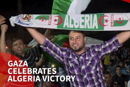 Thumbnail - Gaza celebrates Algeria's African Cup of Nations victory