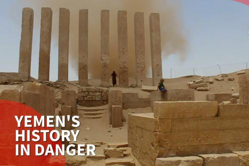 thumbnail - War closes in on Yemen's historical sites