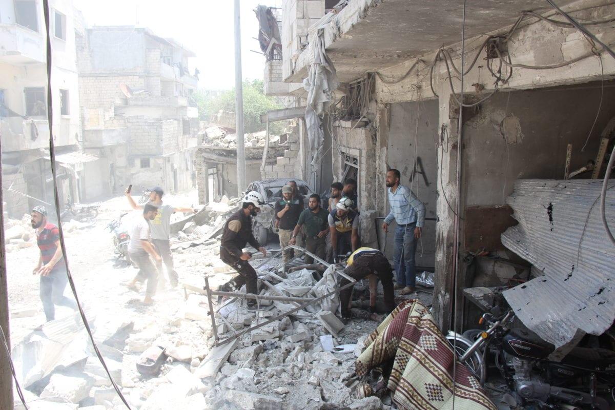 Air raids: Citizen journalist among 18 civilians killed in northwest Syria