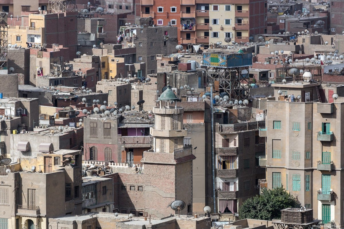 Aerial view of homes in Cairo, Egypt on 1 March 2019 [Moody Man/Flickr]