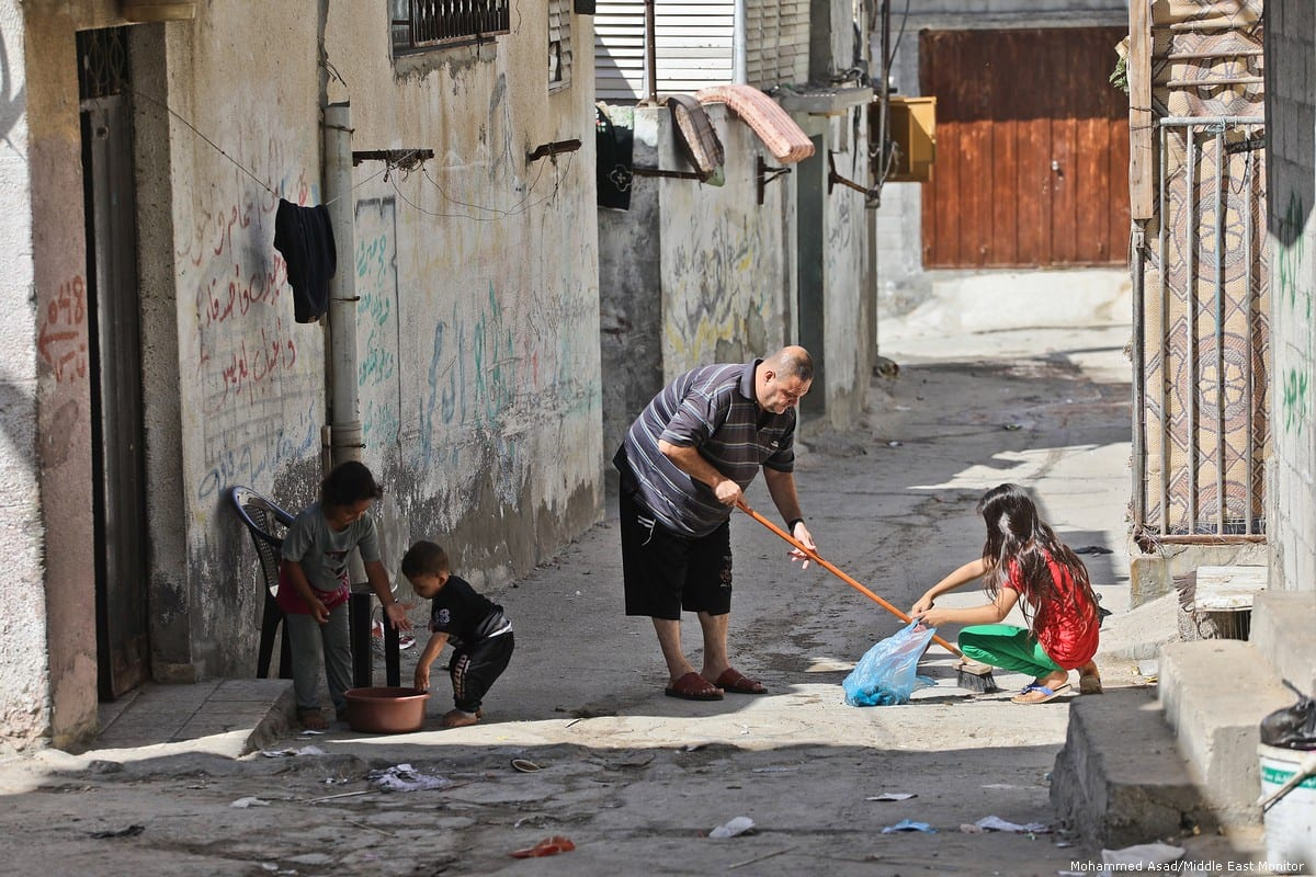 Al-Shati refugee camp in northern Gaza is home to scores of Palestinians who owned acres before they were forced out of their homes in the Nakba of 1948