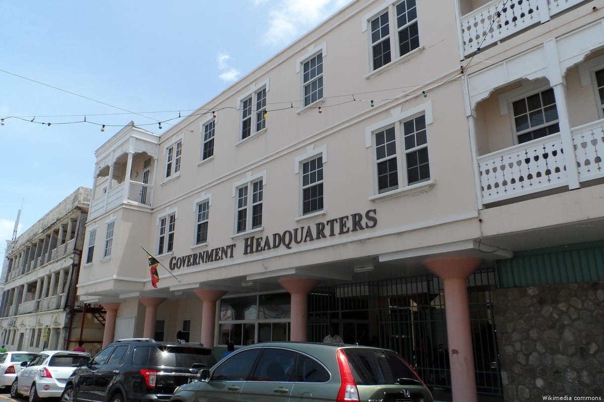 Saint Kitts and Nevis government headquarters [Wikimedia Commons]