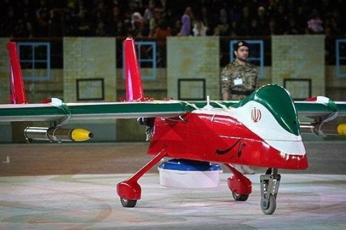 Iranian drone [Fars News Agency - Wikipedia]