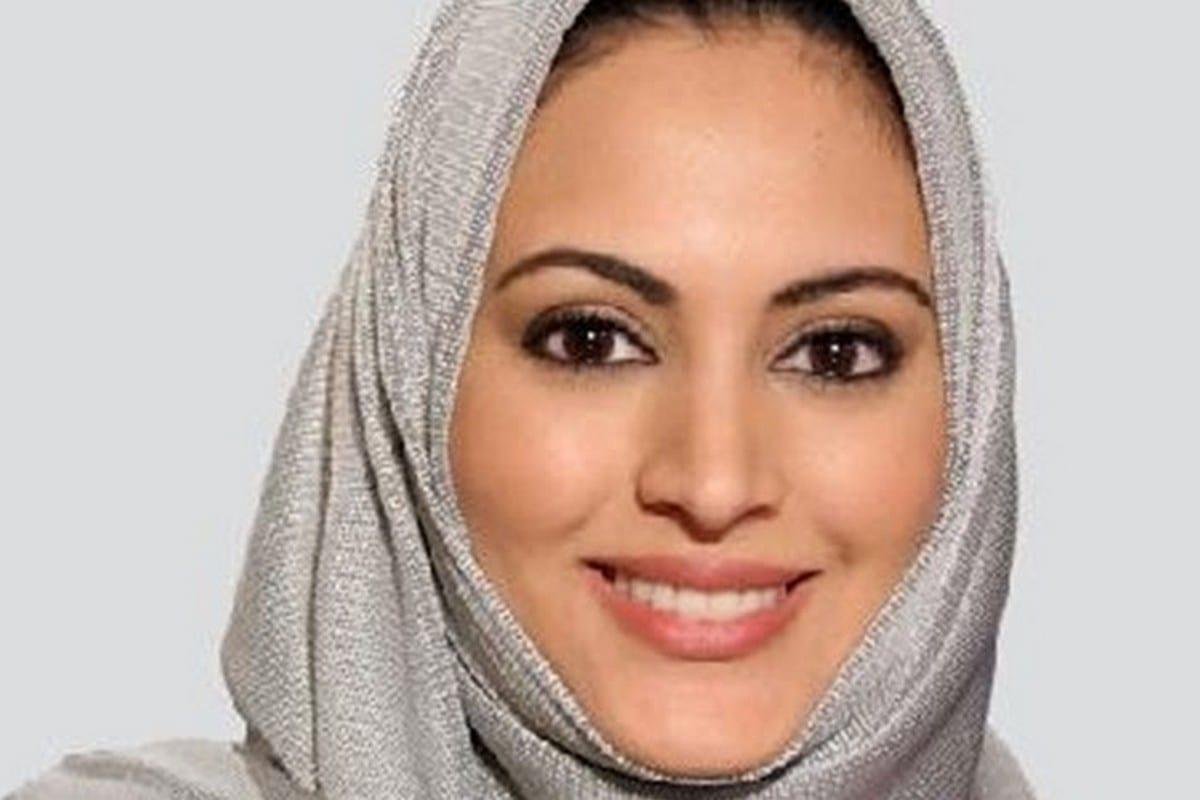 Muna Abu Sulayman, a Saudi TV presenter