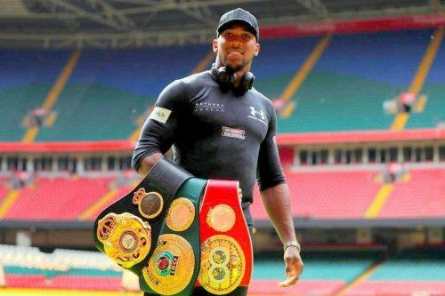 Former heavyweight boxing champion Anthony Joshua, [REUTERS]