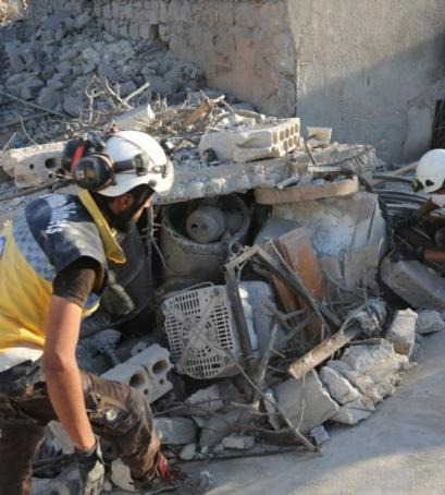 Idlib is on fire, but the firefighters only make it worse