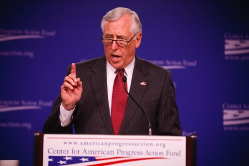 Steny Hoyer, a Maryland congressman who currently serves as the Democrat's house majority leader [Flickr/www.ralphphoto.com]