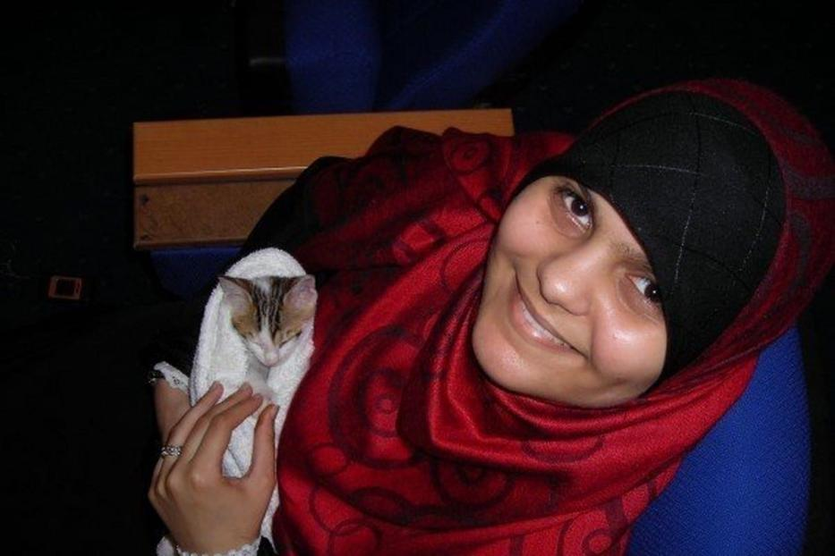 Habiba Ahmed Abdelaziz Ramadan was killed by Egyptian forces at the Rabaa Square sit-in in Cairo, Egypt on 14 August 2013