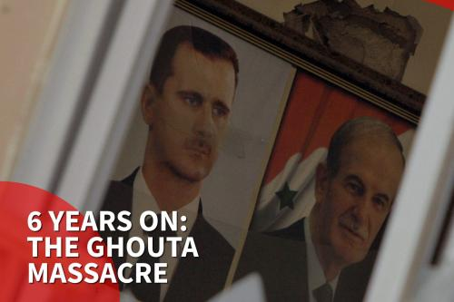 Remembering the Eastern Ghouta chemical attack