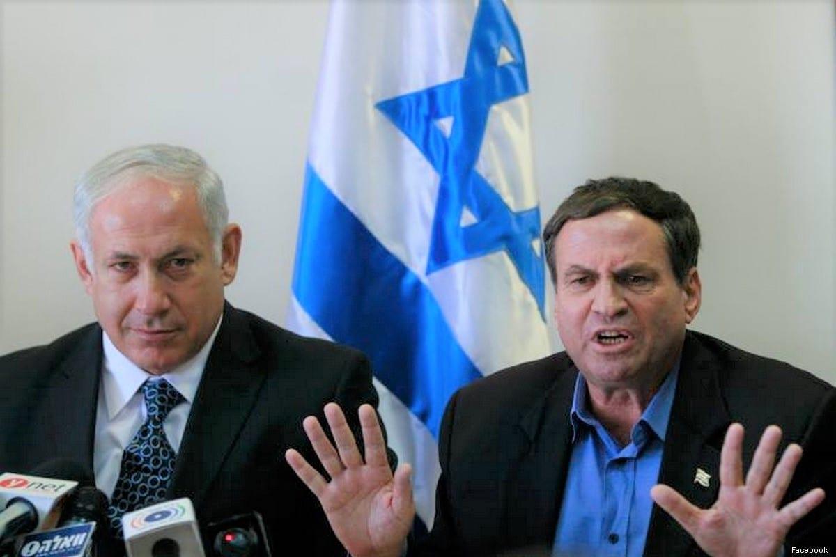 Prime Minister Benjamin Netanyahu (L) and Israeli MK Uzi Dayan [Facebook]