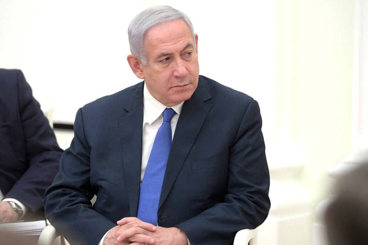 Israeli Prime Minister Benjamin Netanyahu seen during a meeting with Russia's Putin in Moscow, Russia on April 4, 2019 [kremlin.ru]