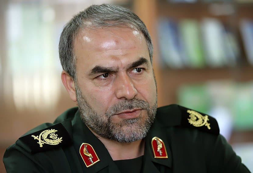 The head of the political bureau of the Islamic Revolutionary Guard Corps, Yadollah Javani (Wikipedia)