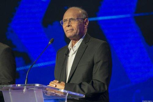 Former Tunisian President Moncef Marzouki in Tunisia, on 7 September 2019 [Yassine Gaidi/Anadolu Agency]