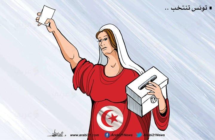 Tunisia's presidential elections [Cartoon-Arabi21]