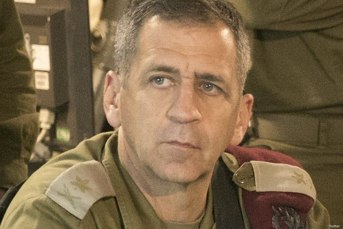 Chief of Staff of the Israeli army Aviv Kochavi