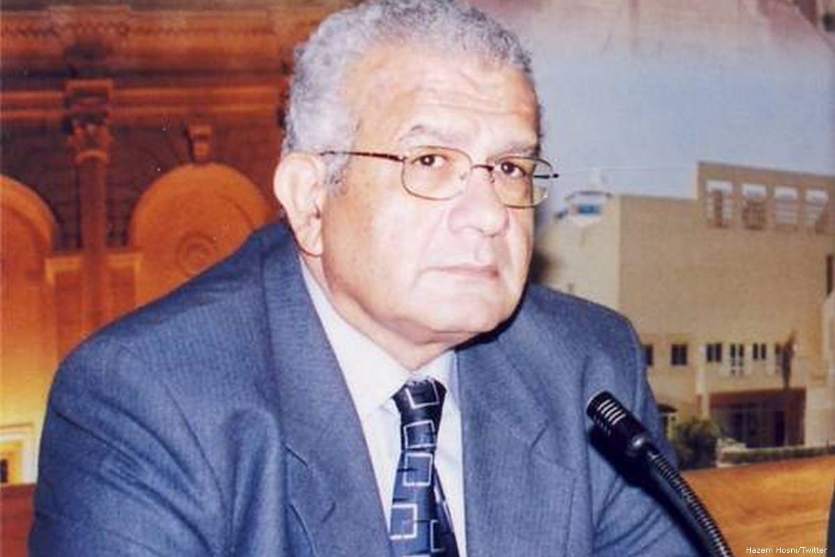 Hazem Hosni, professor of political science at Cairo University [Hazem Hosni/Twitter]