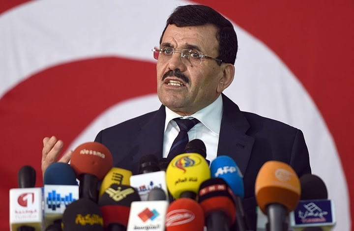 Ennahdha leader Ali Laarayedh