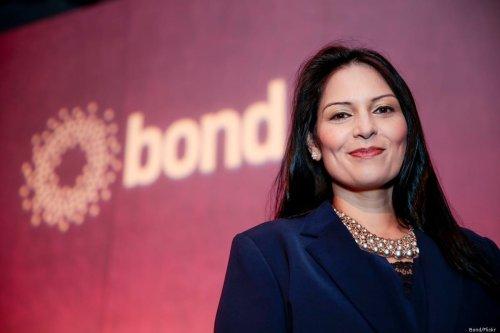 UK Home Secretary Priti Patel at the Bond Conference London, UK on 20 March 2017 [Bond/Flickr]