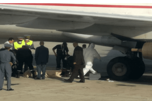 Body of an African migrant was found in the wheel store of Royal Air Maroc plane at Mohammed V airport