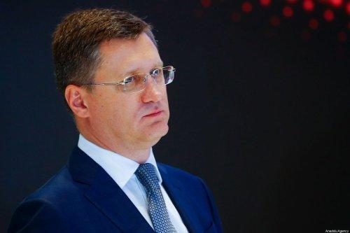 Russian Energy Minister Alexander Novak in Moscow, Russia on 2 October 2019 [Sefa Karacan/Anadolu Agency]