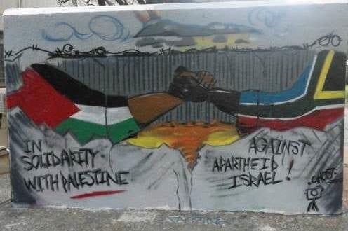Apartheid mural [Twitter]