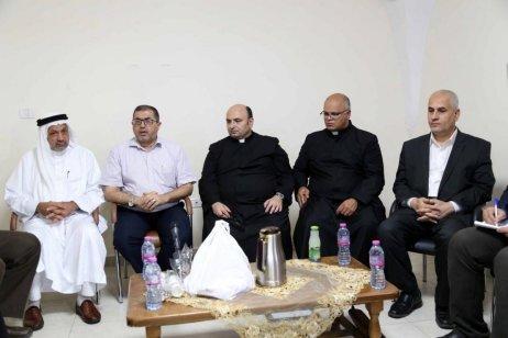 Hamas delegation visit Catholic Church