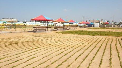 Gaza launches 'Return Park' along Israel fence [Wafa Aludaini/Middle East Monitor]
