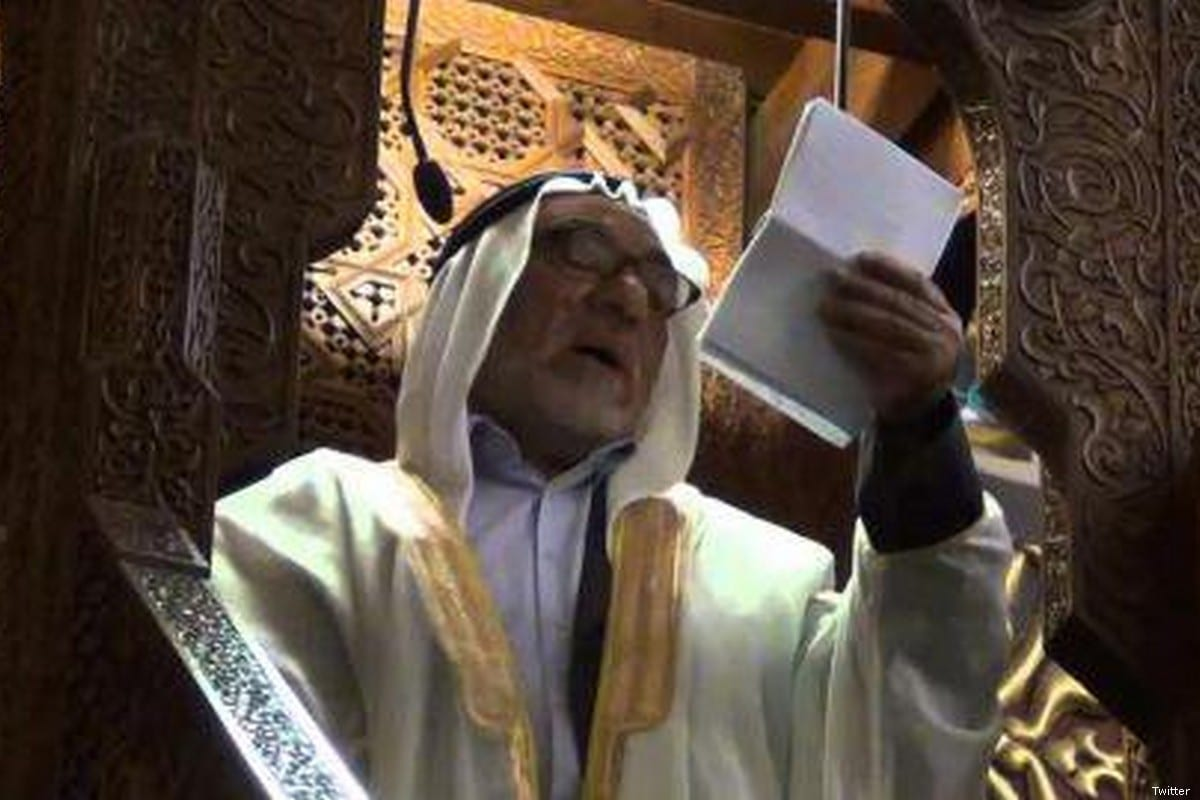 Sheikh Ismail Nawahda, a preacher at Al-Aqsa Mosque