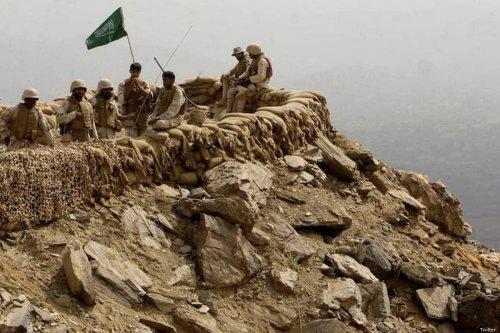 Saudi forces inside Saudi Arabia's Najran province [Twitter]