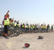 UK cyclist's 240km West Bank riding challenge to help Palestinians