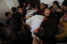 Senior Islamic Jihad leader Bahaa Abu Al-Ata is killed following an Israeli strike on his home in the Gaza Strip on 12 November 2019 [Mohammed Asad/Middle East Monitor]