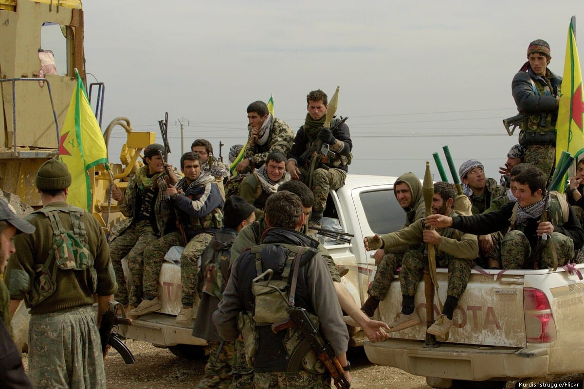 Kurdish Peoples' Protection Units militia (YPG)