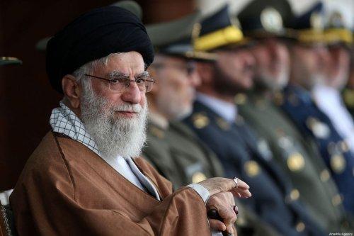 Iranian Supreme Leader Ayatollah Ali Khamenei participates in the Khatam al-Anbia Air Defense University graduation ceremony in Tehran, Iran on October 30, 2019 [IRANIAN SUPREME LEADER PRESS OFFICE / HANDOUT - Anadolu Agency]