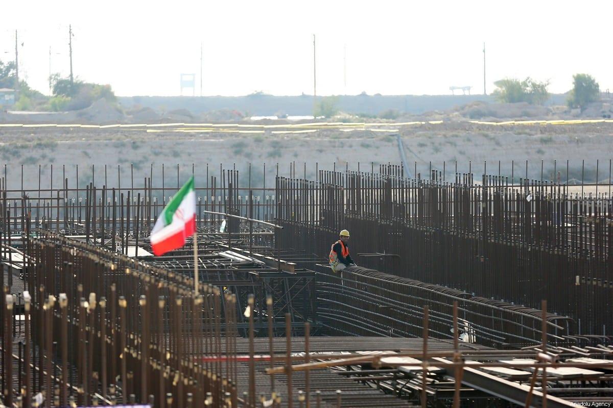 The groundbreaking ceremony of Bushehr Nuclear Power Plant, held in Bushehr, Iran on 10 November, 2019 [Fatemeh Bahrami/Anadolu Agency]