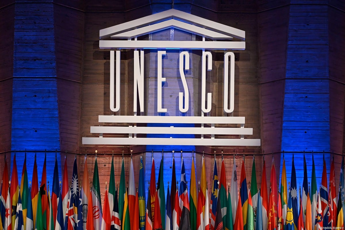 A general view of the UNESCO meeting during the 40th session of the United Nations Educational, Scientific and Cultural Organization (UNESCO) at the UNESCO headquarters in Paris, France on 13 November 2019. [Mustafa Yalçın - Anadolu Agency]