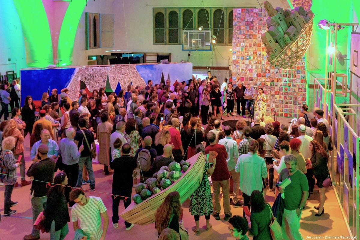 "Israeli Exhibition 'Jerusalem Biennale ""Ziara""' on 14 October 2019"