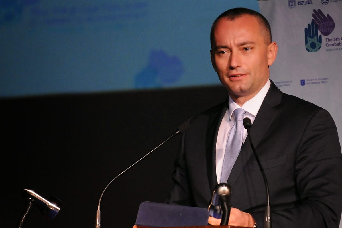 United Nations (UN) Special Coordinator for the Middle East Peace Process, Nickolay Mladenov