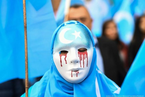 Protest against the treatment of Uyghurs in China, 21 May 2019