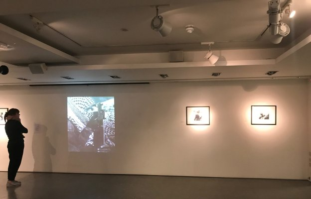 The Found Archive of Hani Jawherieh is an exhibition looking at the personal films and photos of the Palestinian photographer and cinematographer. It opened last week at the P21 Gallery in London