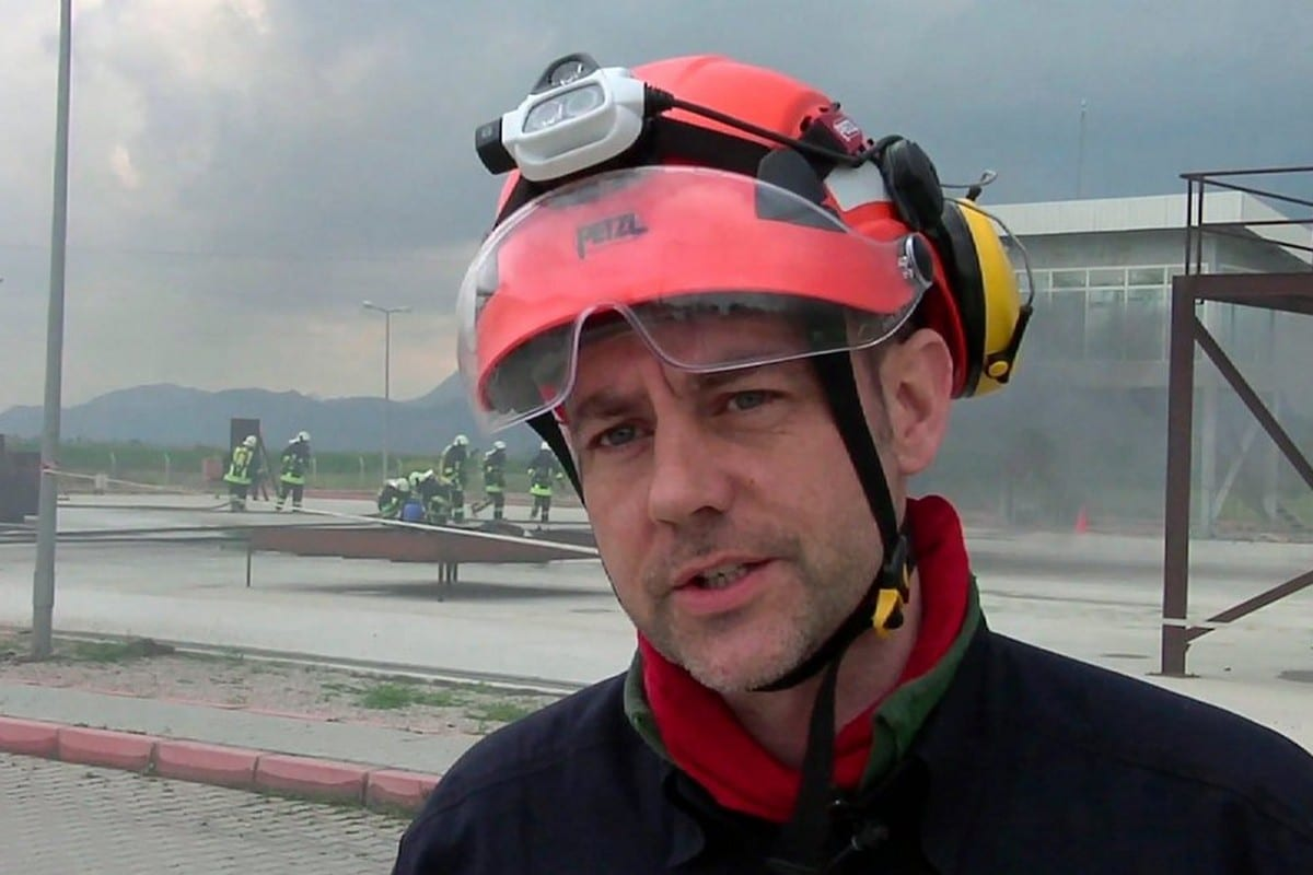 James Le Mesurier, supporter of the White Helmets organisation, was found dead in Istanbul, Turkey on 11 November 2019 [Twitter]