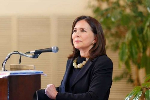 Karen Longaric, the interim foreign minister of Bolivia, 27 November 2019 [Twitter]