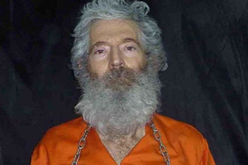 FBI agent Robert Levinson seen in photos sent to his family by his captors sometime in April 2011 [Robert Levinson family]