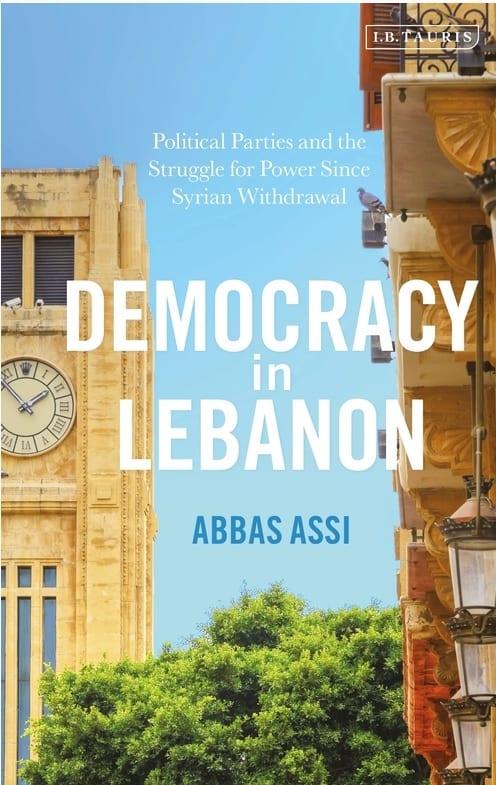 Book cover: Democracy in Lebanon