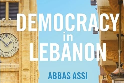 Book cover: Democracy in Lebanon