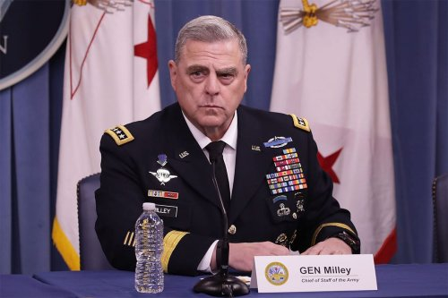 Mark Milley, top US general [Wikipedia]