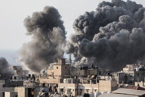 Smoke rises after airstrike in Libya [Anadolu Agency]